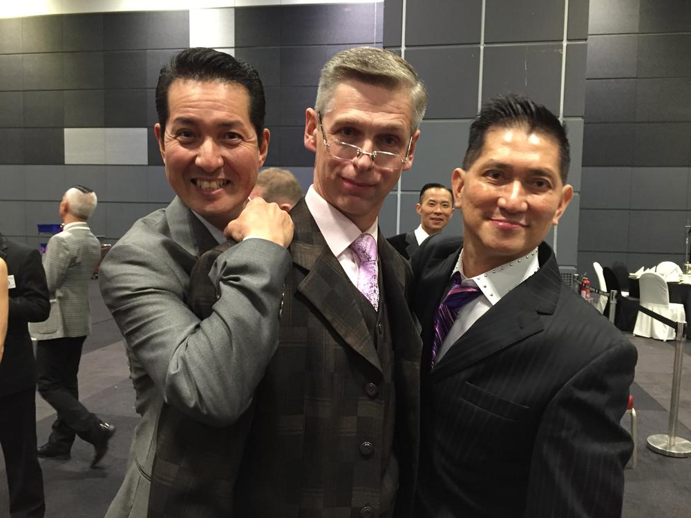Tanaka , Alexey and John