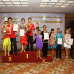 Junior 15 & below 3 dance Latin