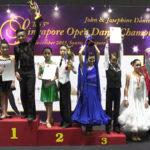Juvenile 12 yrs & below 3 Dance Standard