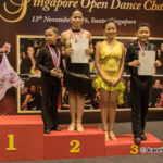 Beginner Junior 16 yrs & below One Dance Cha Cha