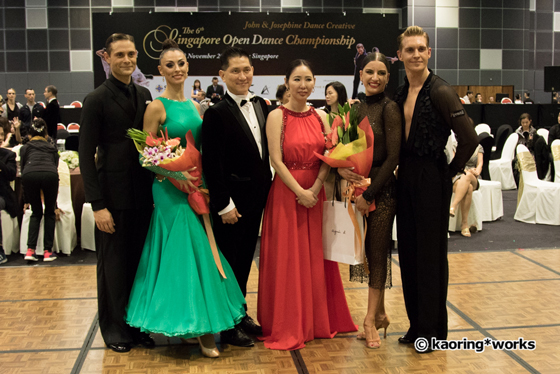 John & Josephine with guest artists