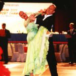 Jonathan Crossley & Kylie Jones from England - Champion Amateur Open Ballroom