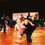 Darren Bennett & Lilia Kopylova from England - Champion Amateur Open Latin