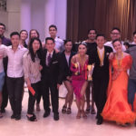 John & Josephine with Yale-NUS Ballroom Dancing Team