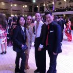 John & Josephine with Amateur Latin Finalists Salvatore & Viktoria