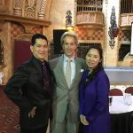John & Josephine with WDC President Donnie Burns MBE