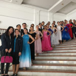 Josphine with Yale-NUS Ballroom Dancing Team