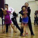 Dancers in action