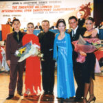 John and Josephine with guest artists - Massimo & Alessia and Jukka & Sirpa