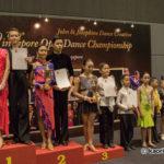 Juvenile 12 yrs & below 3 Dance Latin