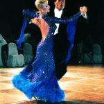 Ballroom Guest Artiste in action (Augusto Schiavo & Caterina Arzenton, Italy)