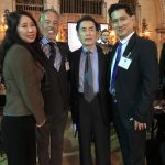 John & Josephine with Henry Ooi and Johan Eftedal